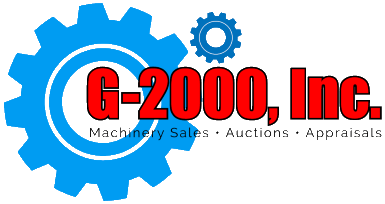 G-2000 Inc. Auctions, Appraisals, Industrial Services, CNC Machinery